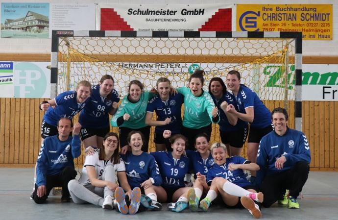 Damen Bezirksmeister und Aufsteiger in die Landesliga