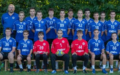 B-Jugend vor letztem Spiel 2019
