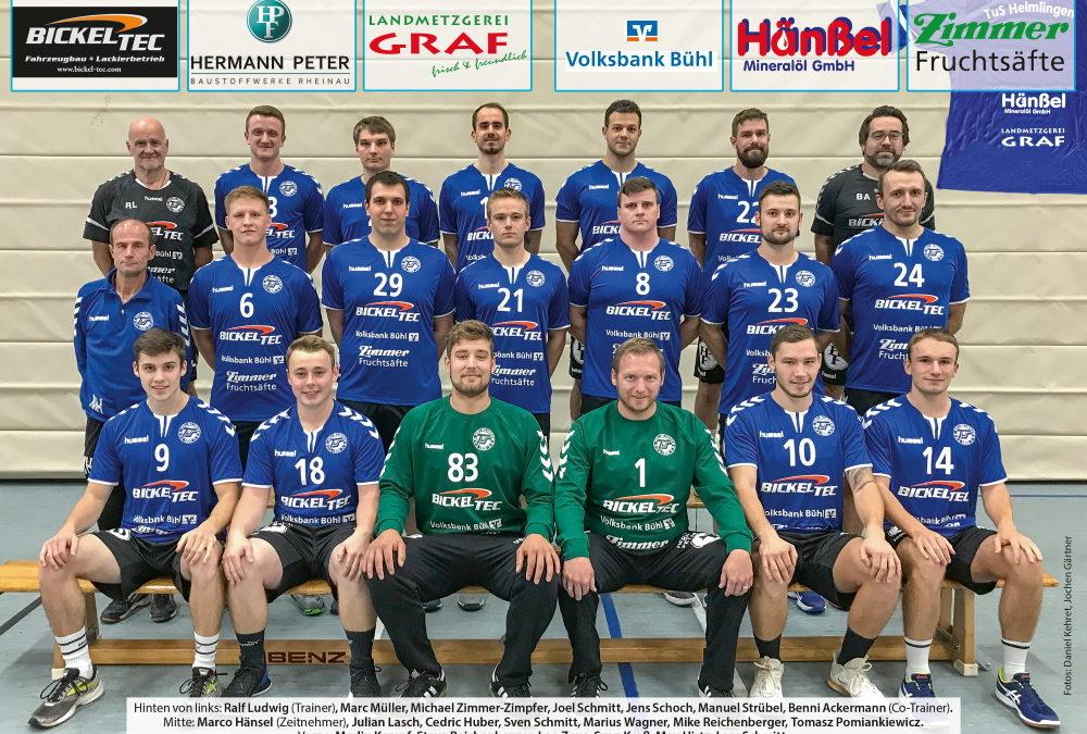 TuS Helmlingen startet mit Auswärtsspiel bei der HGW Hofweier